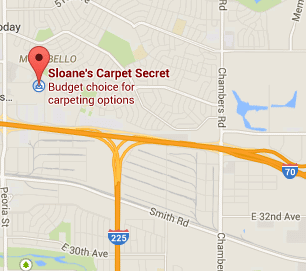 Sloanes Carpet Secret Map