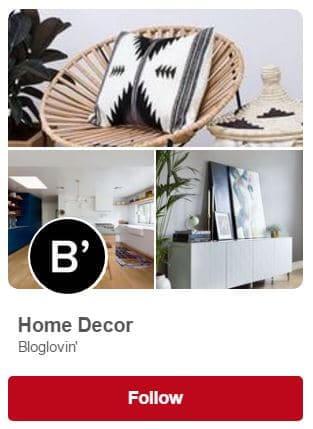 Pinterest Board #1 for Home Decor
